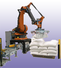 Robotic Bag Palletizer